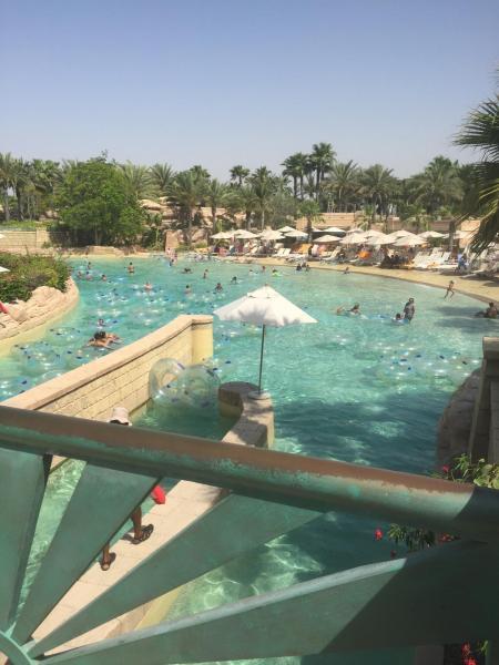 Aquapark à l'Atlantis, la rivère sauvage