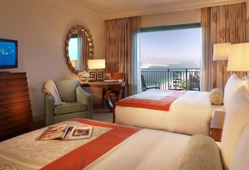Atlantis the Palm chambre vue sur Palm Beach
