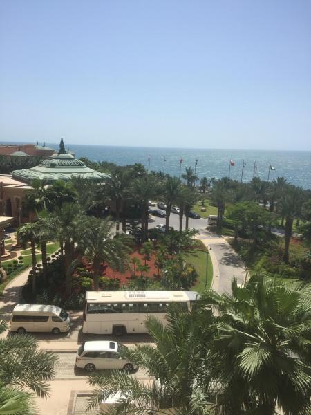 Atlantis vue sur le Golfe Persique