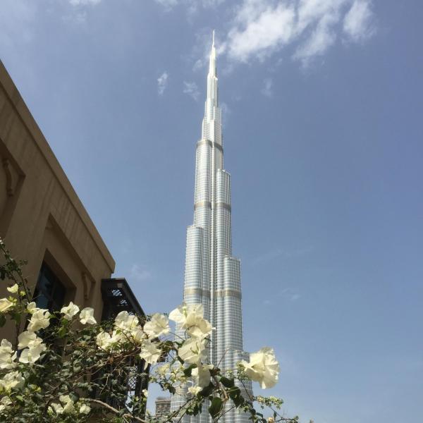 Burj Khalifa Dubaï aux Emirats Arabes Unis
