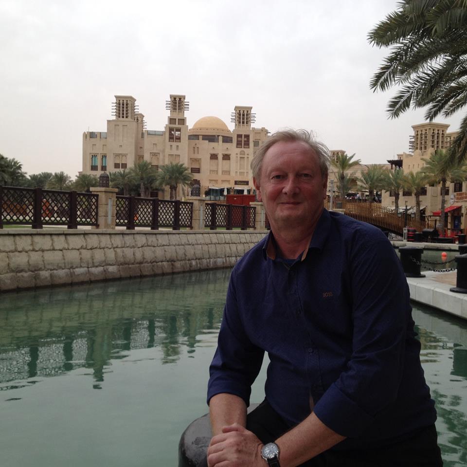 Christian à Madinat Jumeirah