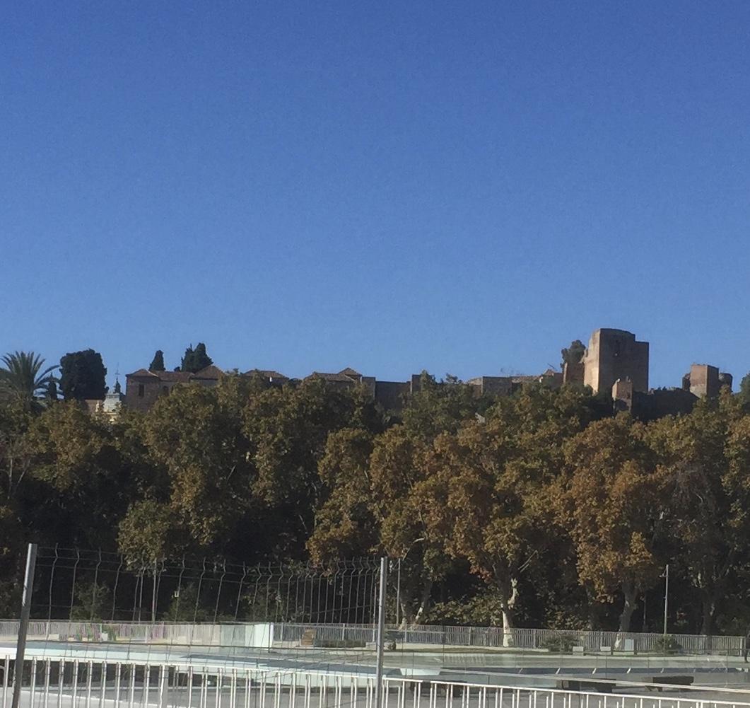 Castillo de Gibralfaro vu du port