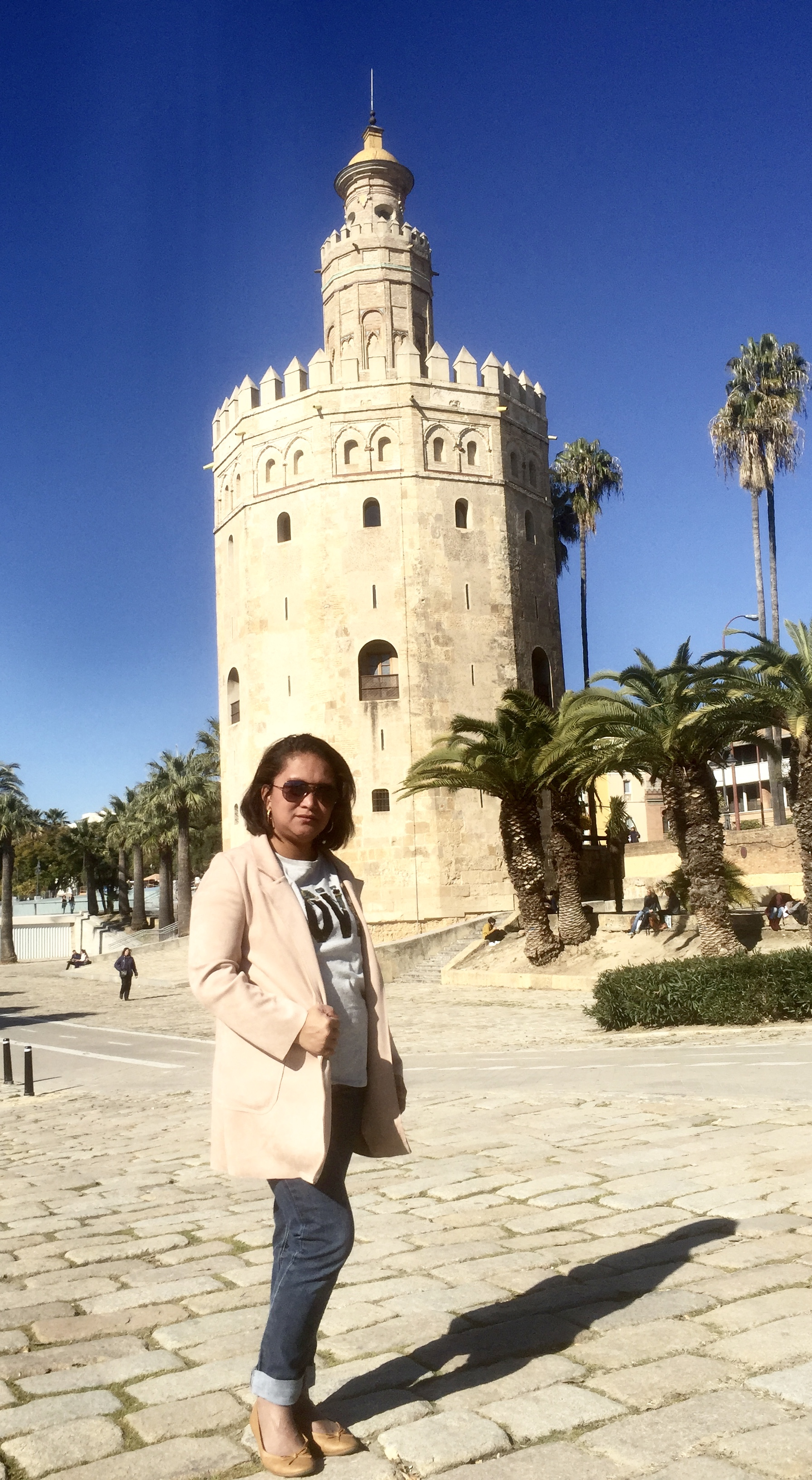 C'était une tour d'observation militaire construite au XIIIe siècle.