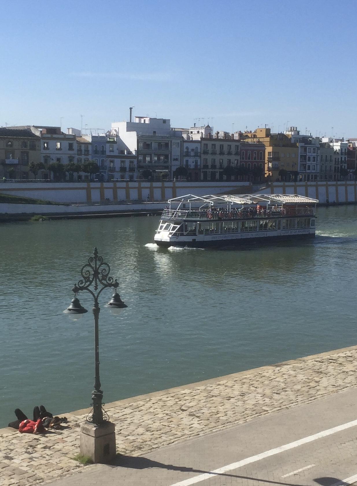 Le seul fleuve vraiment navigable d'Espagne.