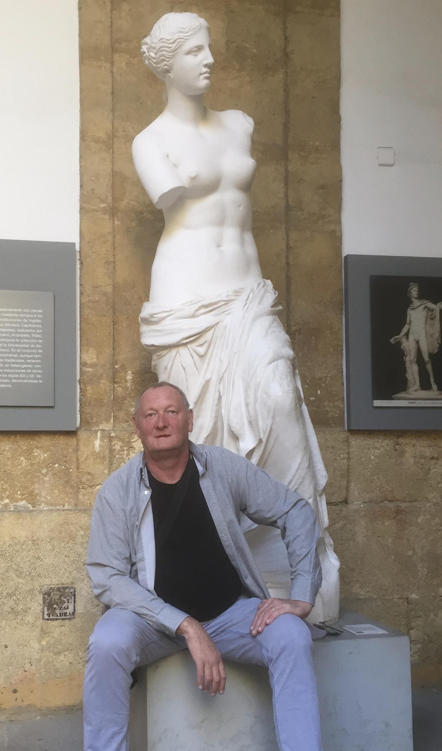 Avec la Venus de Milo !