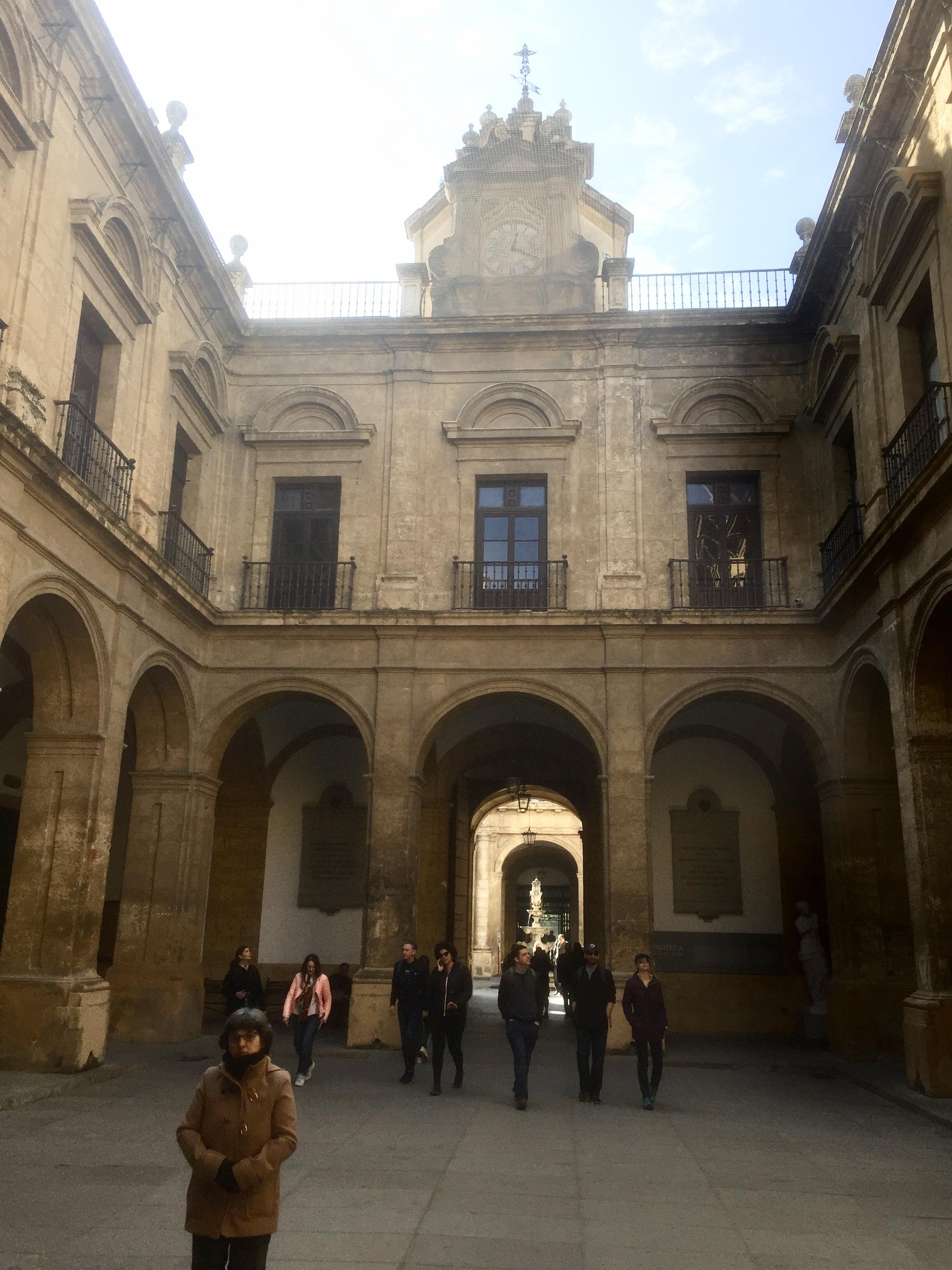 A l'intérieur de l'Université !