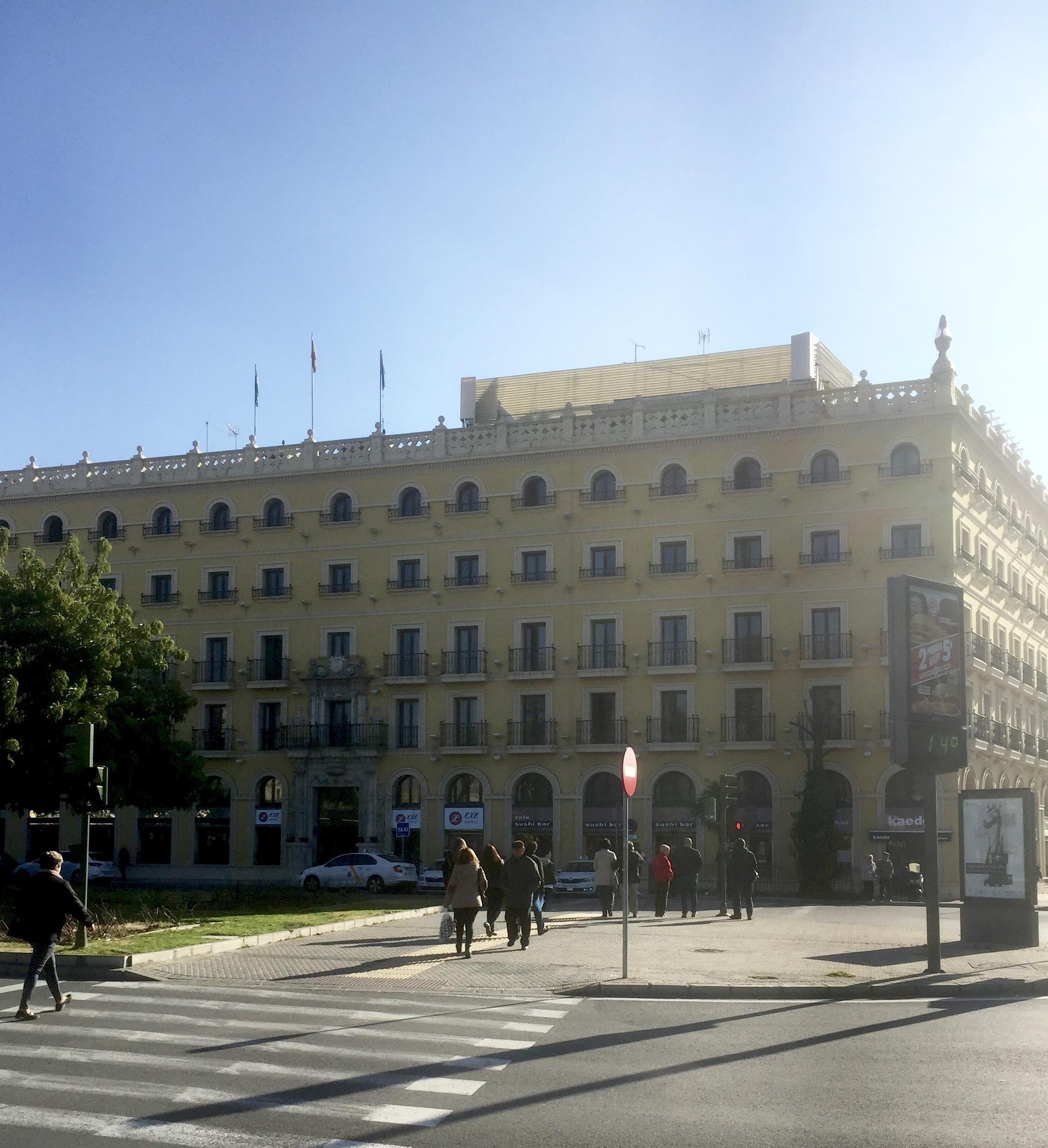Notre lieu de séjour à Séville !