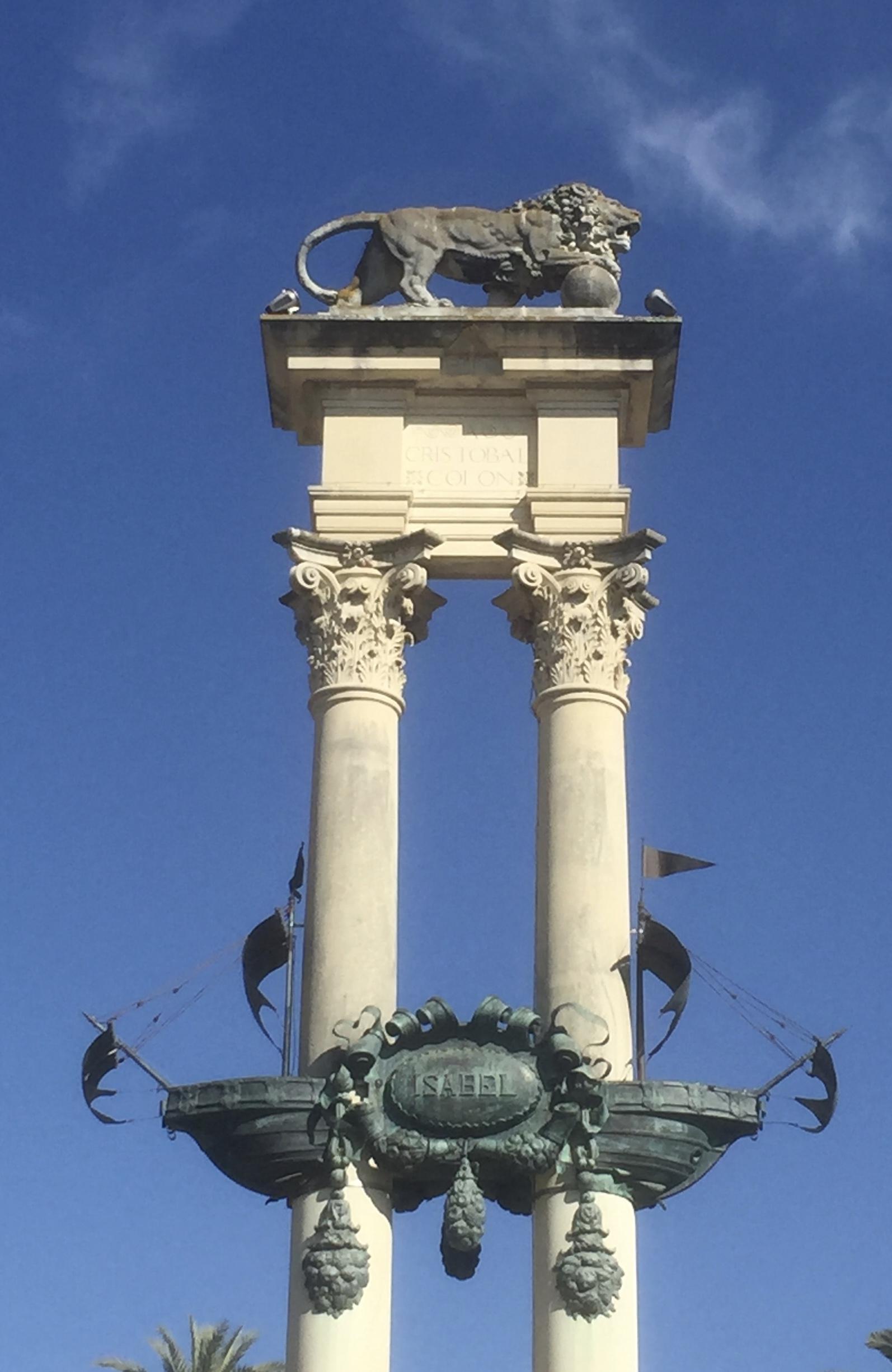 Le monument Christophe Colomb