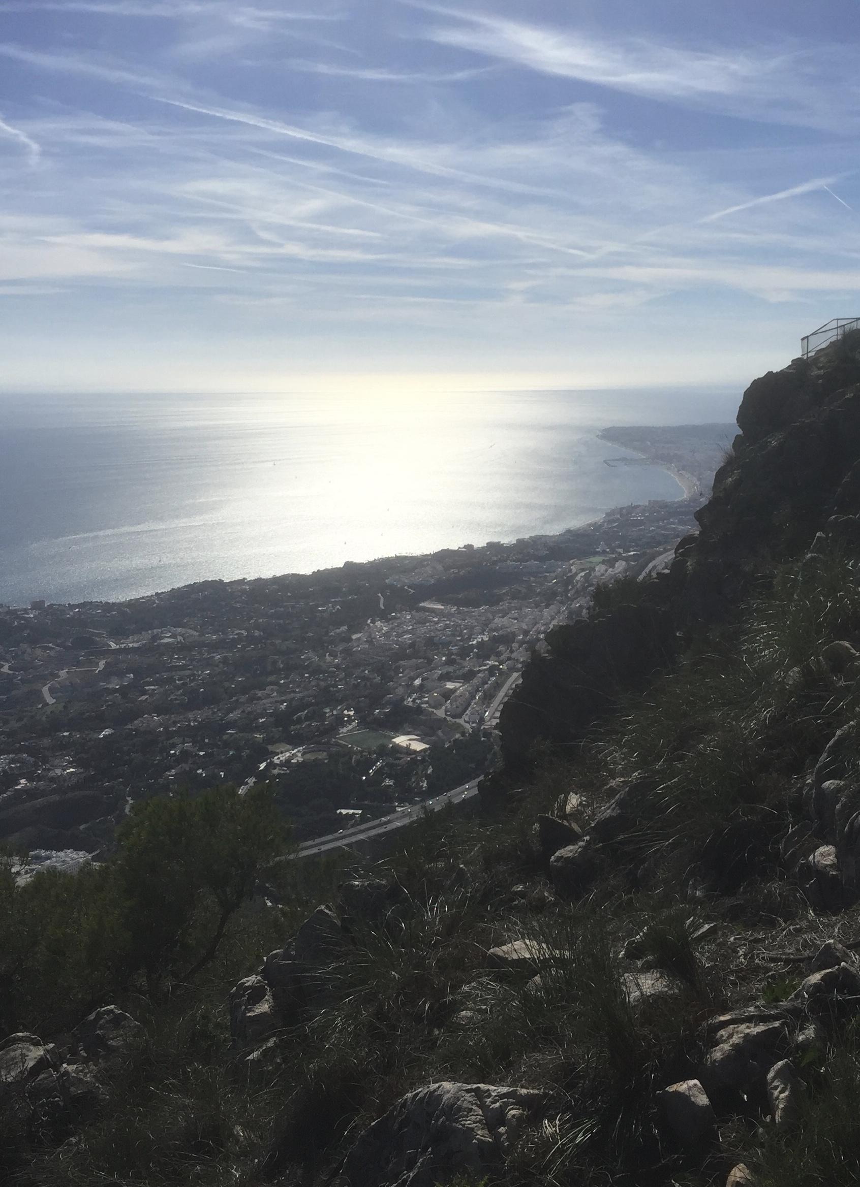 Panorama sur la Costa del Sol vers Fuengirola