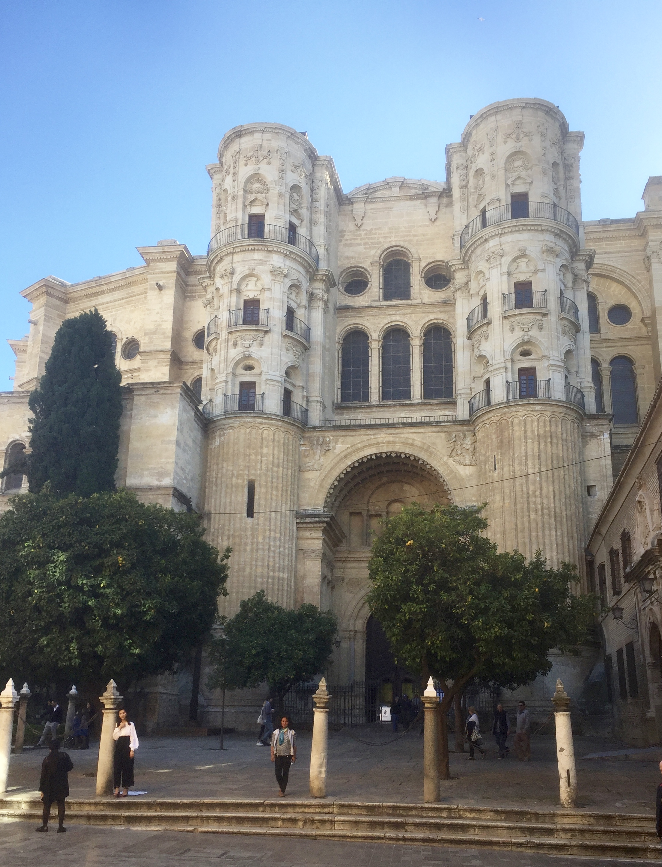 Malaga, la cathédrale
