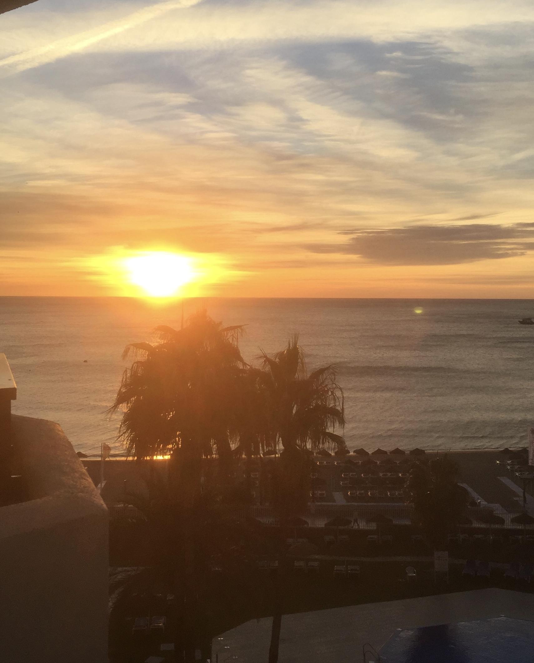 Lever de soleil sur la Carihuela