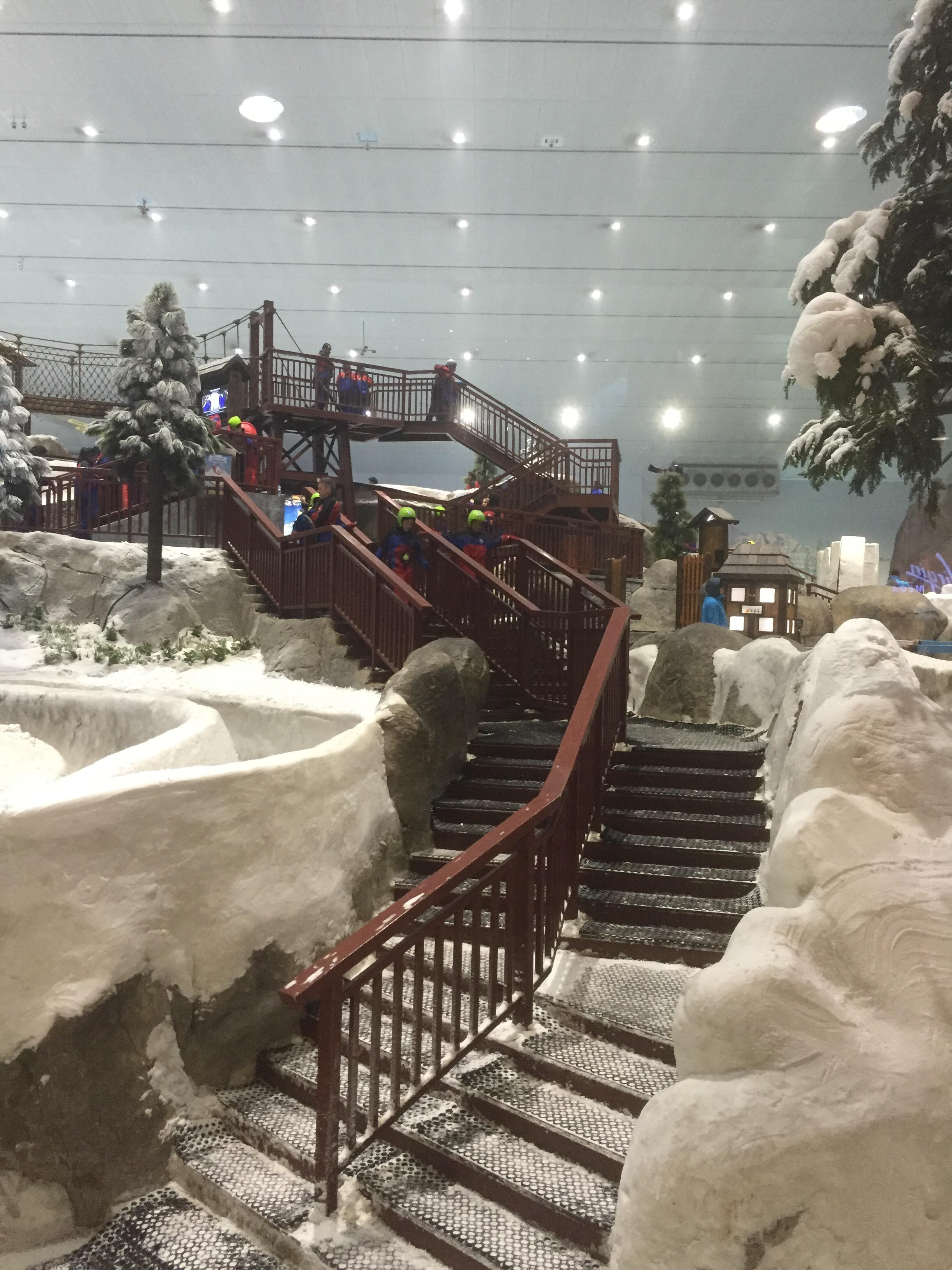 Ski Dubaï au Mall of Emirates