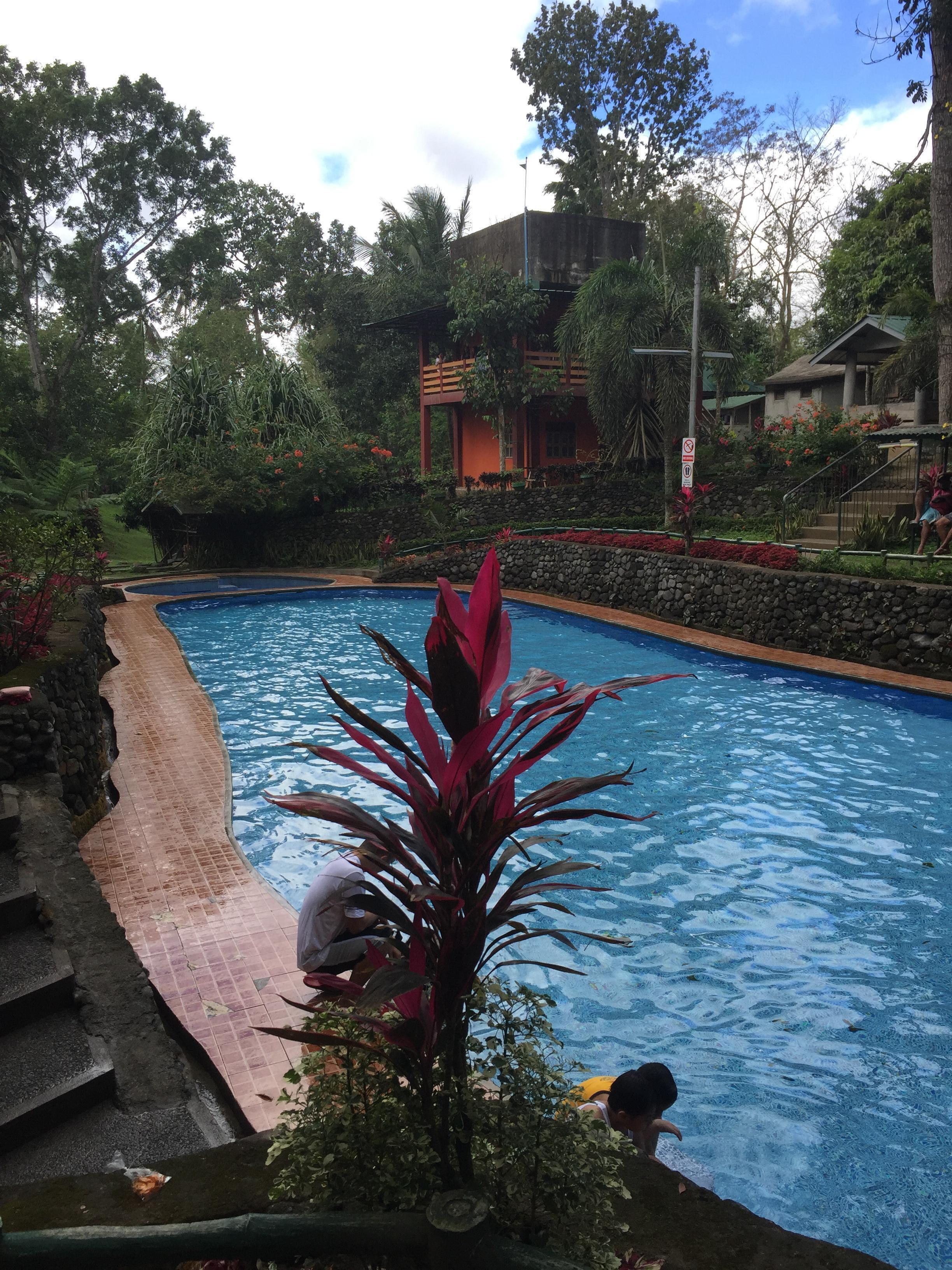 L'autre partie de la piscine