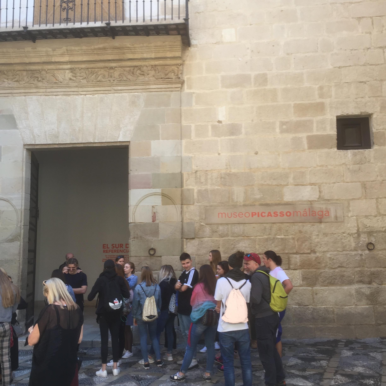 L'entrée du Musée Picasso