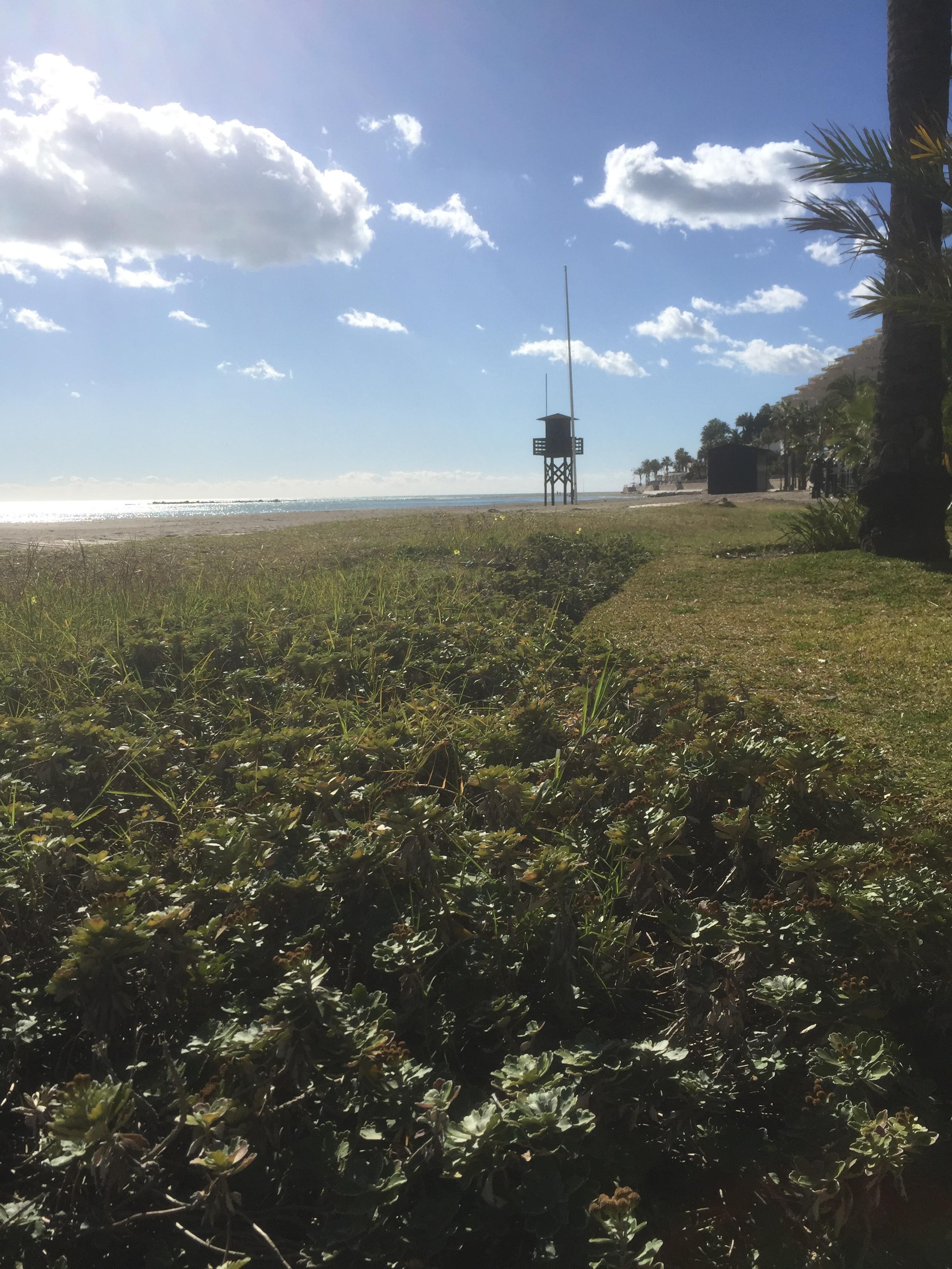La plage de Benalmadena
