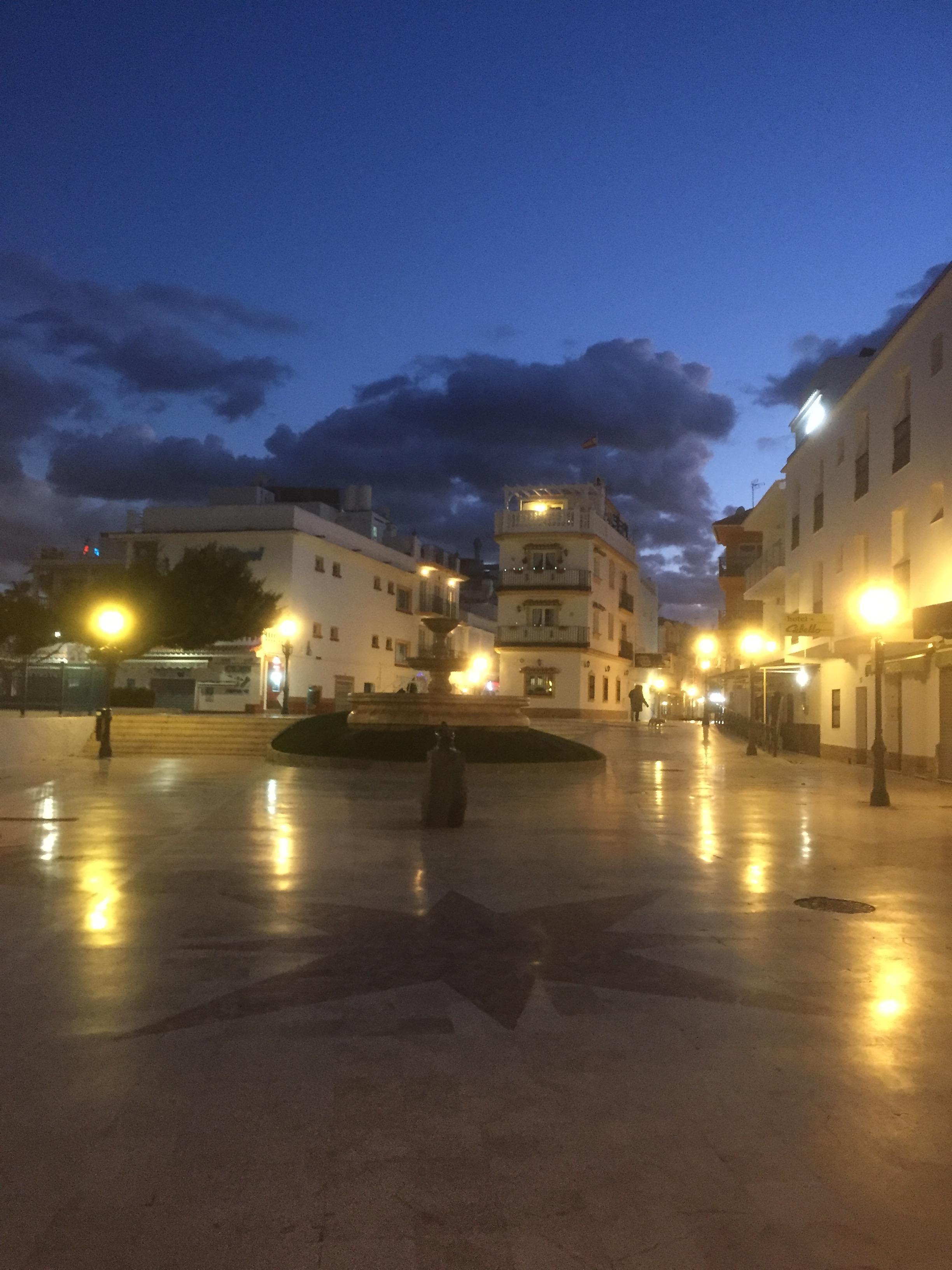 La Carihuela, le soir