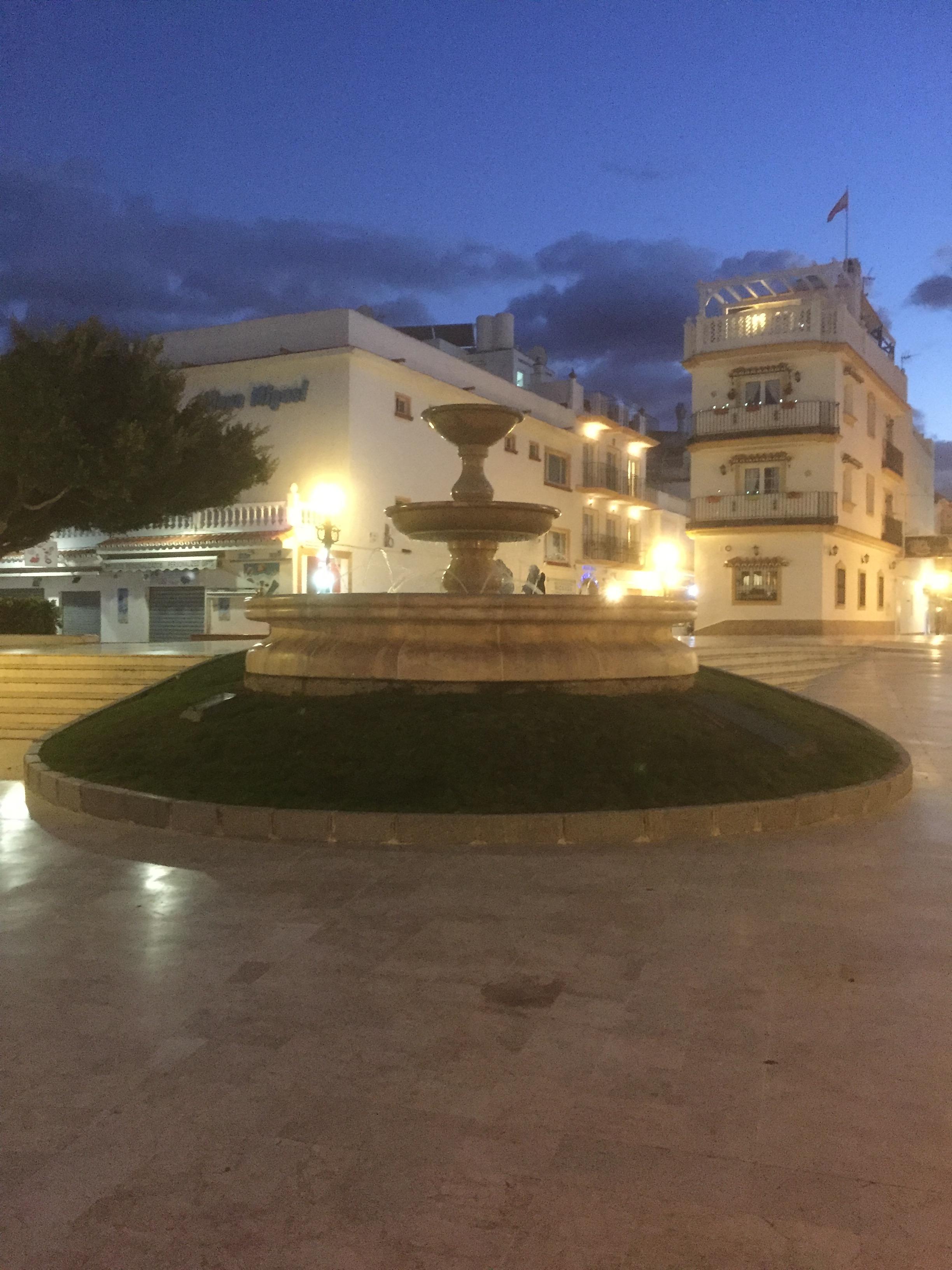 La Carihuela en soirée