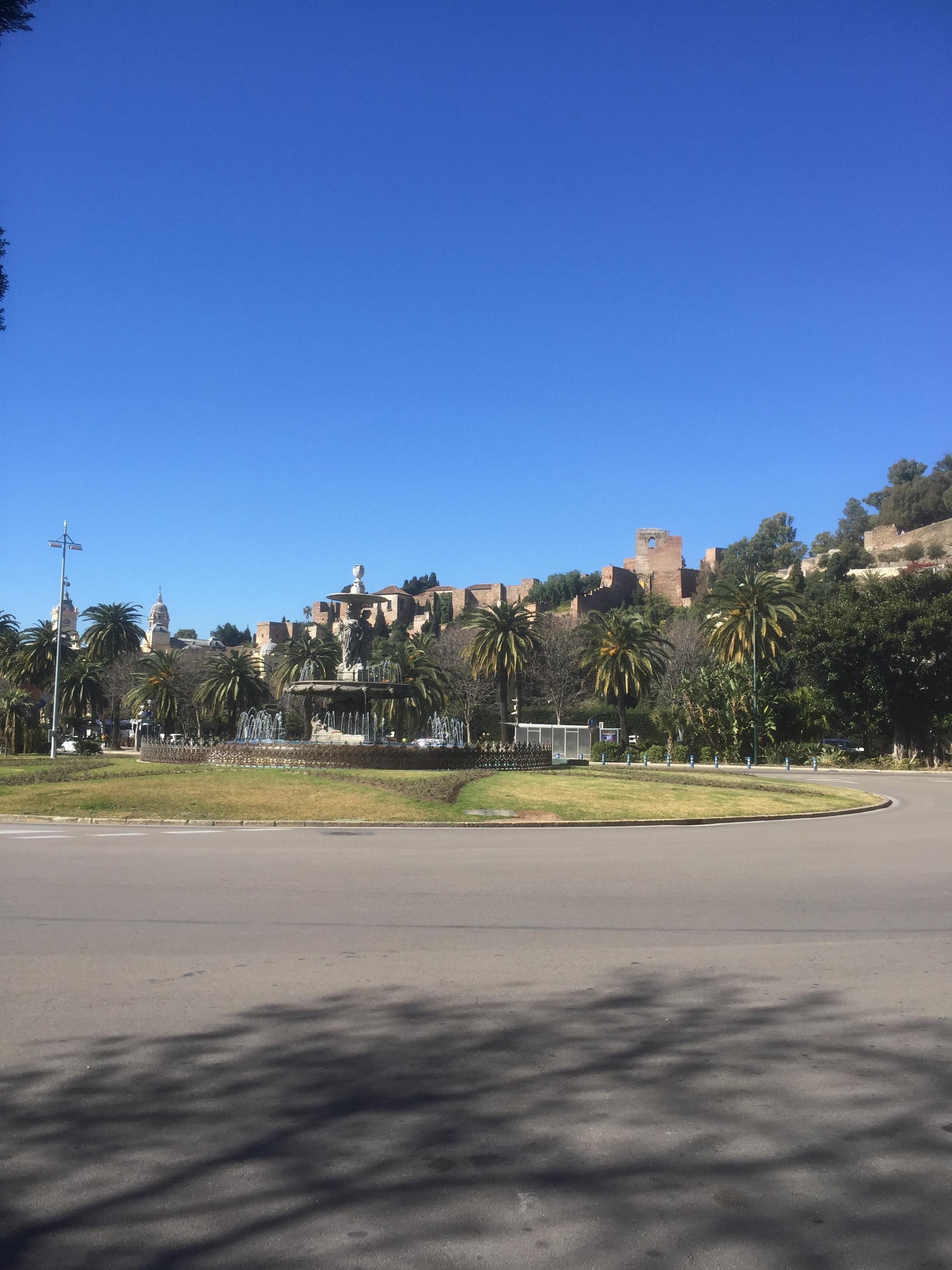 Alcazaba, vu du port