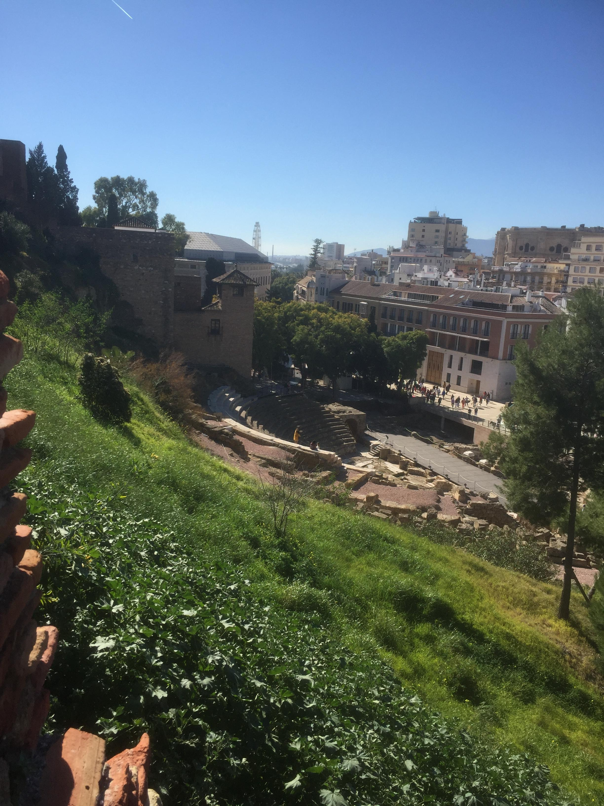 Vue depuis l'Alcabaza