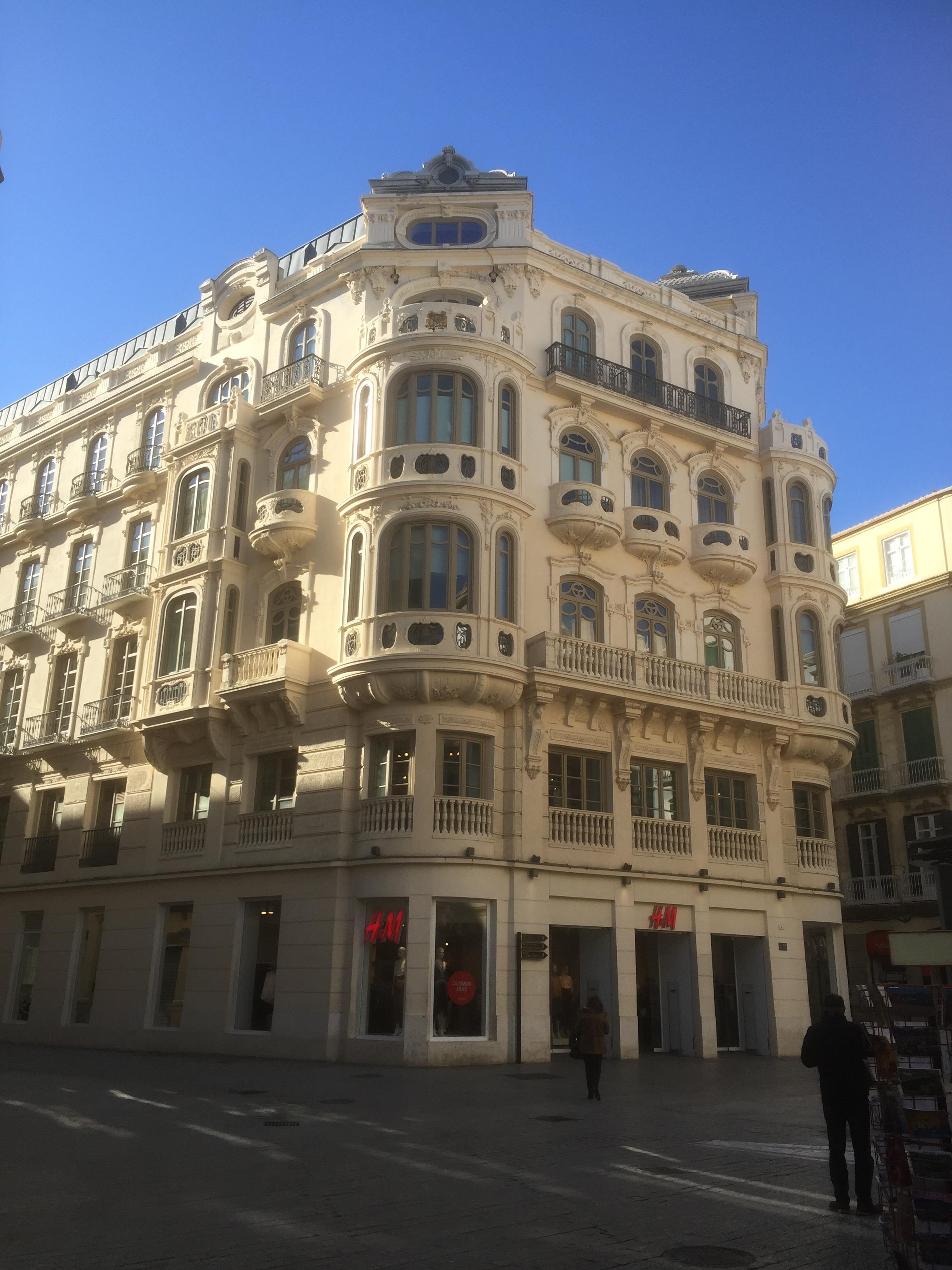 Au centre ville de Malaga