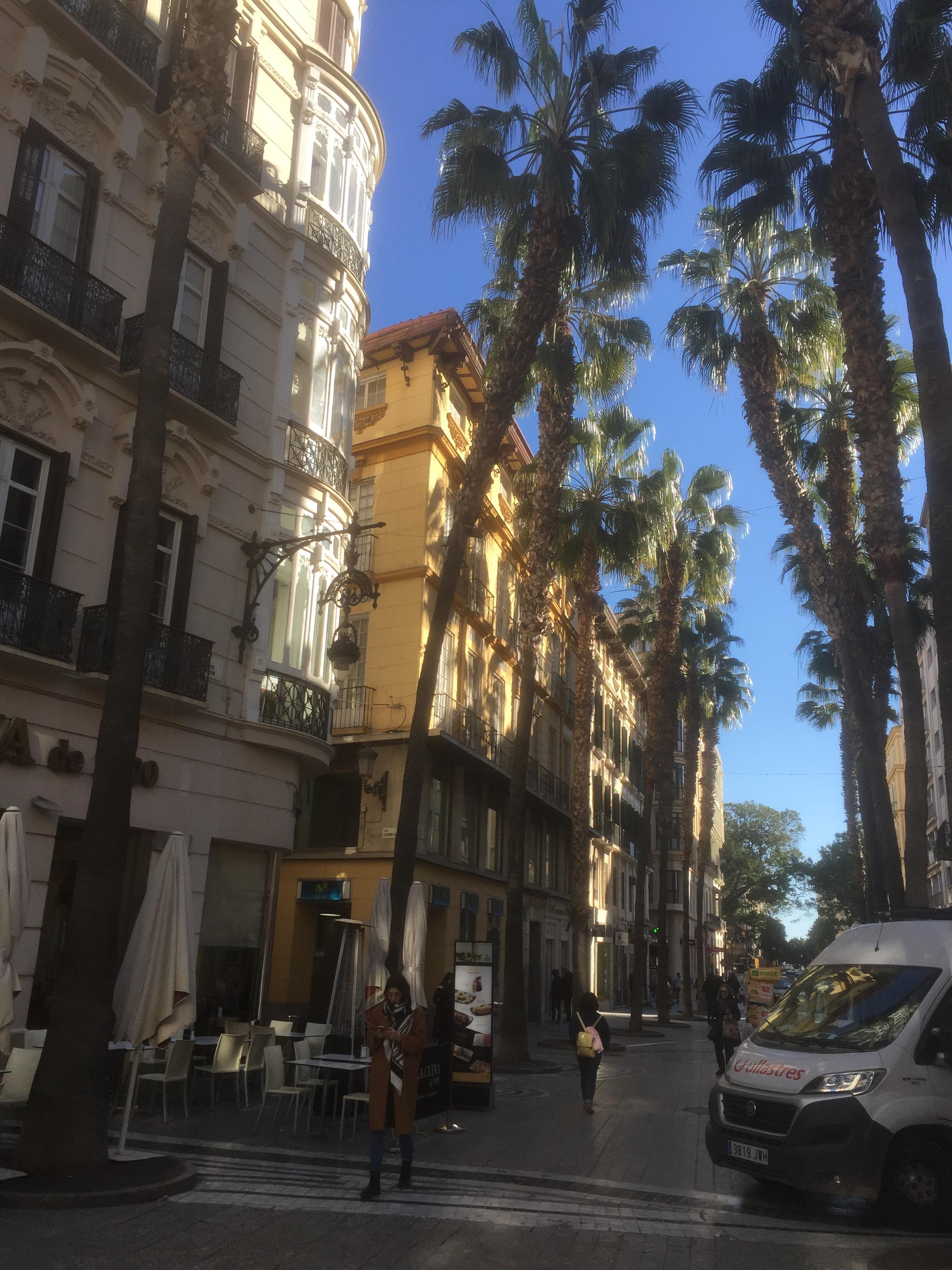 Malaga, centre-ville