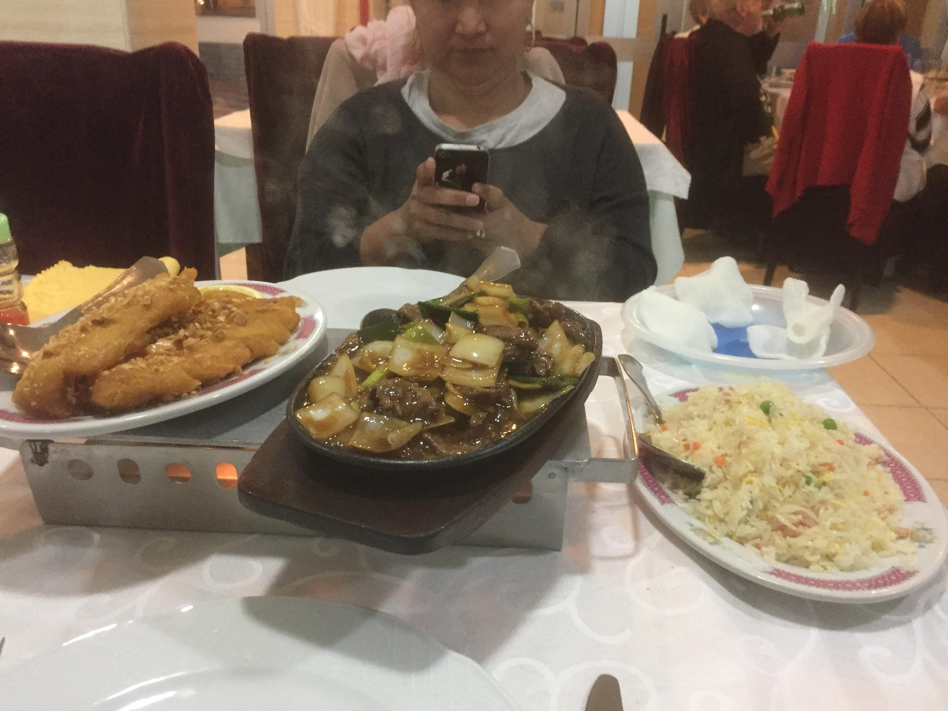 Un resto chinois le dernier soir...