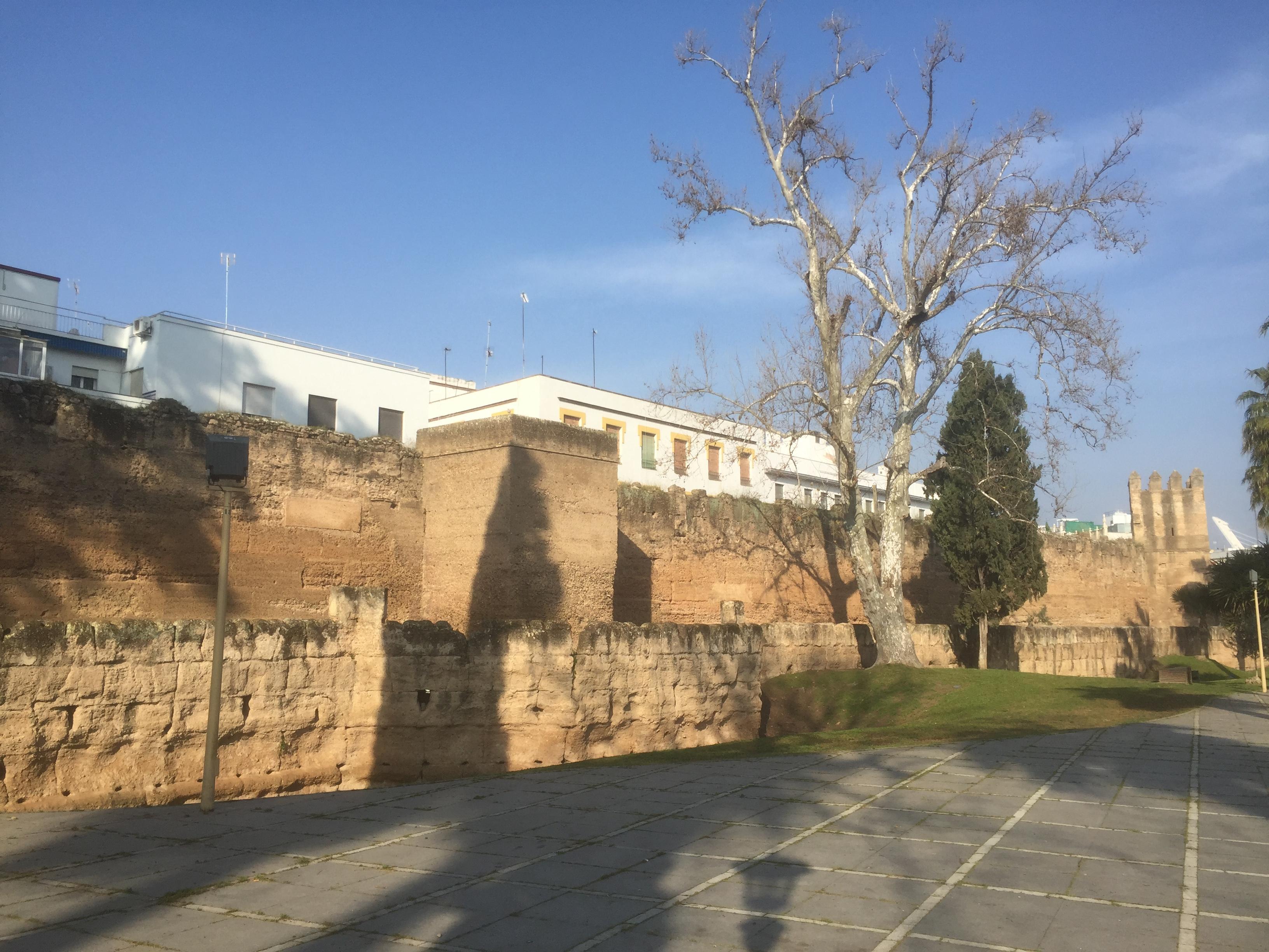 La Muraille de Séville entourait le centre historique