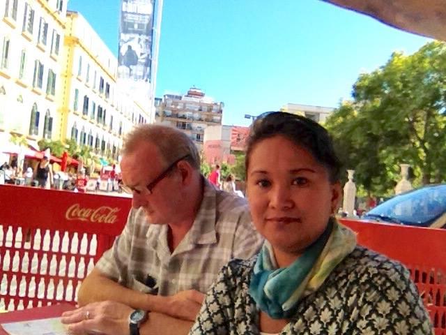 Petite pause rafraîchissante à Malaga