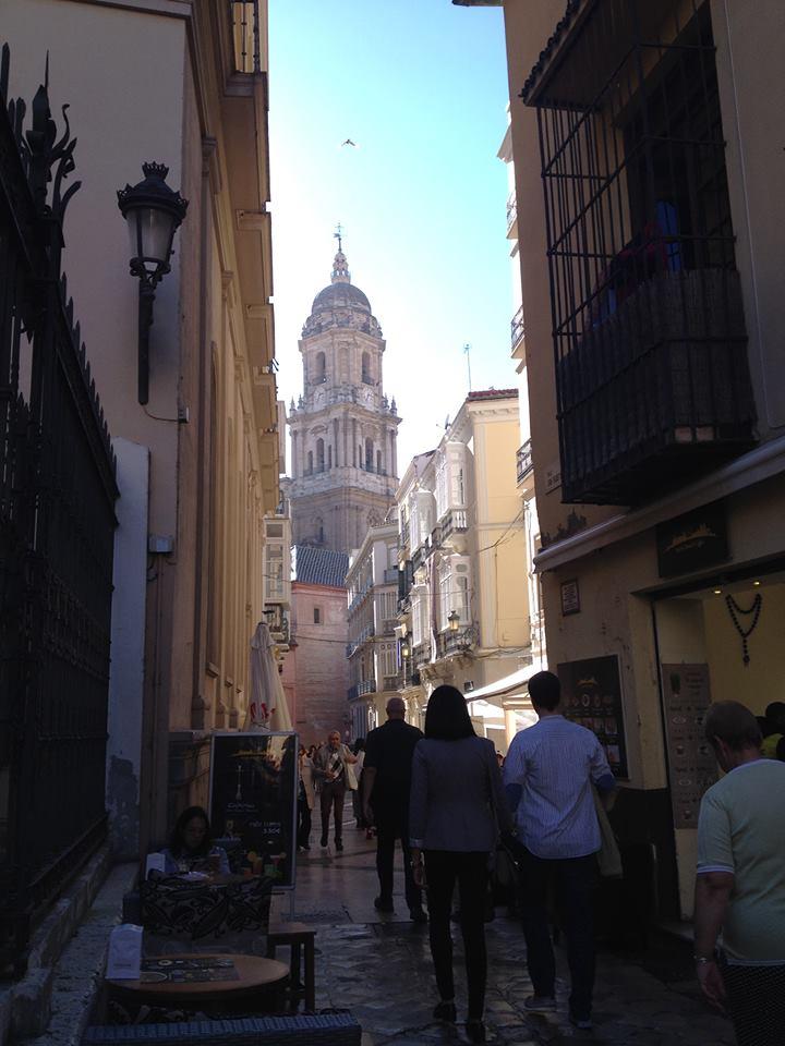 Malaga, ruelles piétonnes du centre-ville