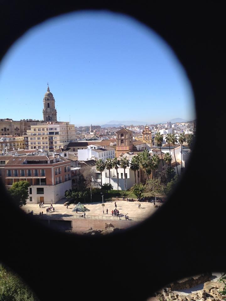 Vue sur Malaga et le clocher de la cathédrale