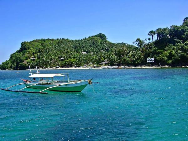 A coco beach
