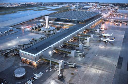 A malaga airport