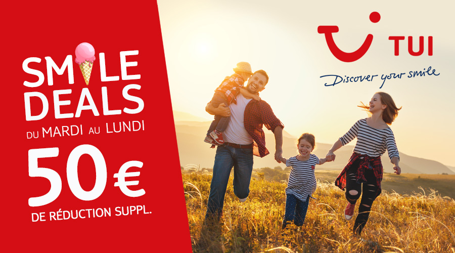 A tui discover smile deals