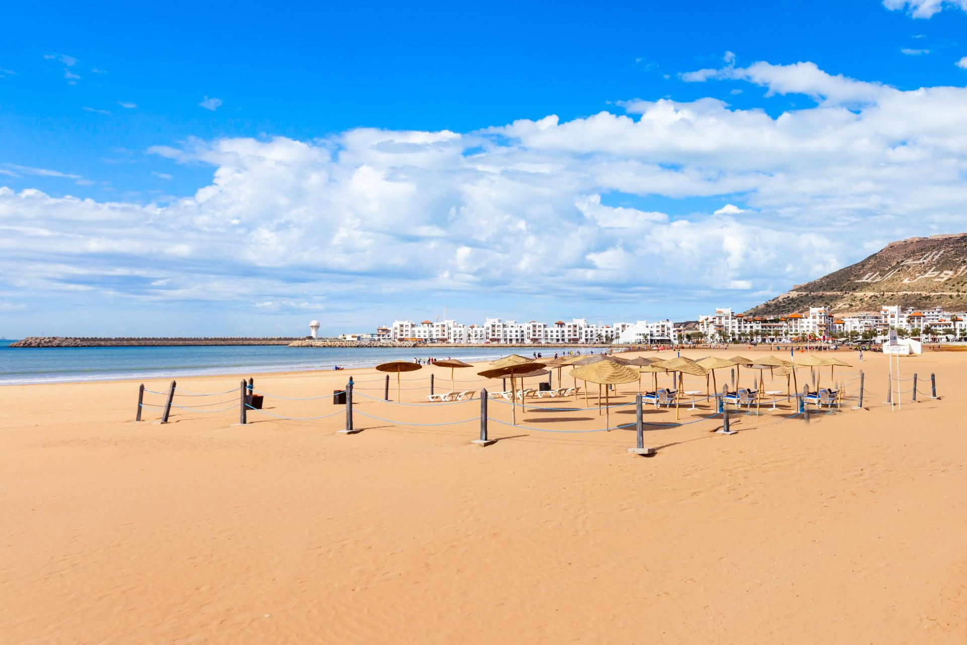 Agadir beach stay