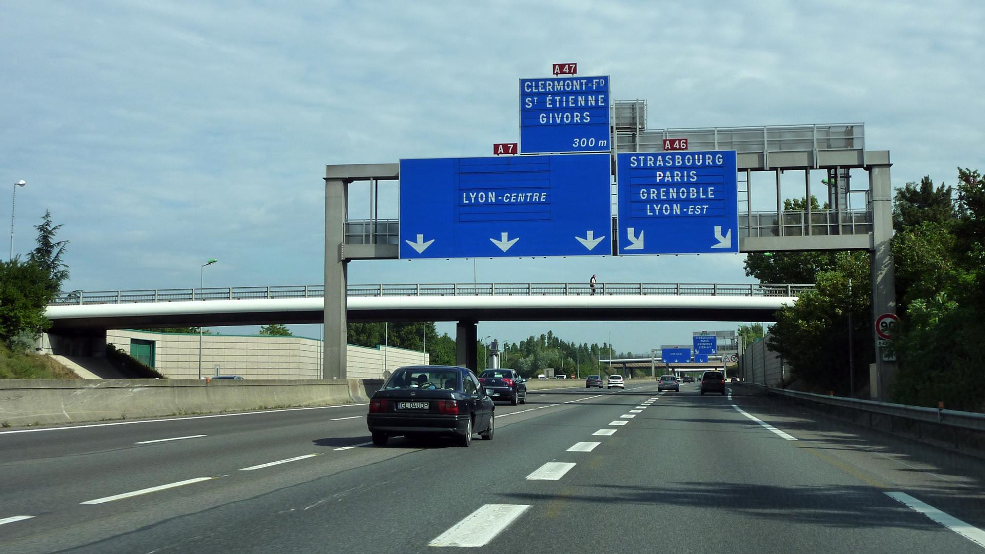 Autoroute a7 a47