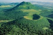 Auvergne volcan