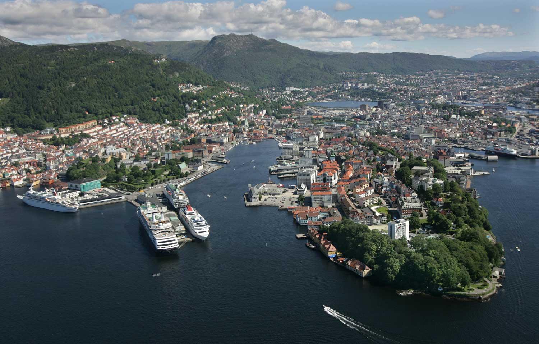 Bergen city center 1