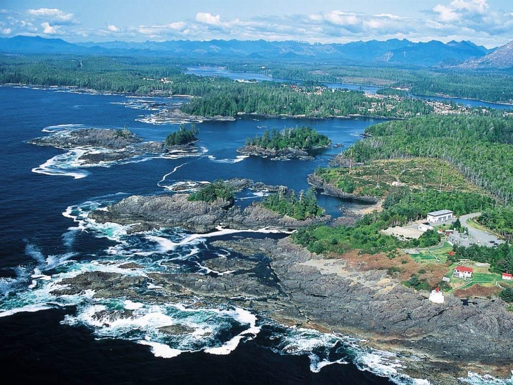 Canada vancouver island inlet st