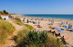 Ile de re 5 km de plages de sable fin office de tourisme de la couarde sur mer