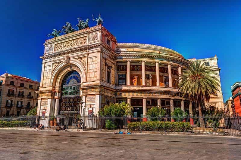 Palermo operahouse
