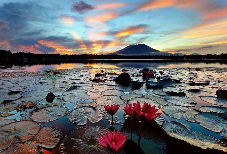 Sampaloc lake coucher 1